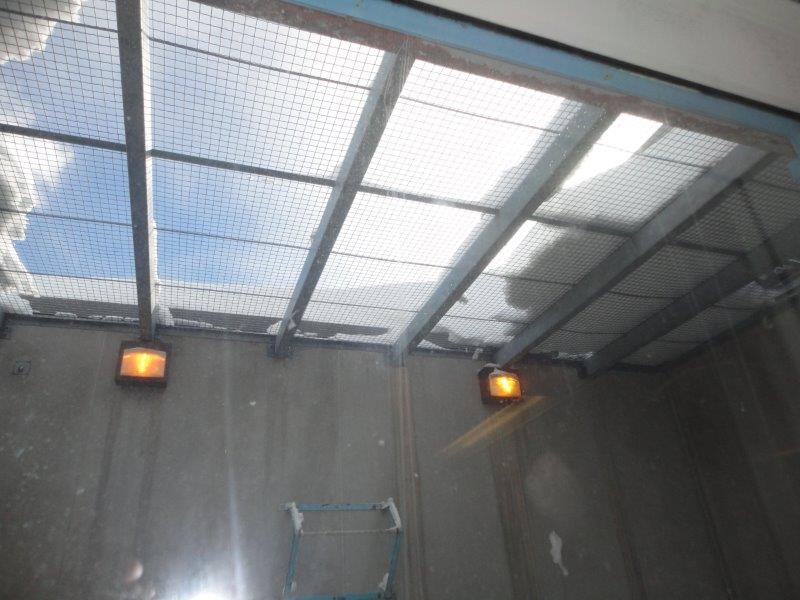 Photo of the Therapeutic Range yard skylight at Atlantic Institution