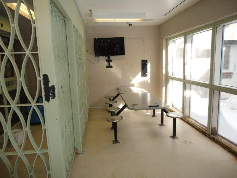 Photo of a program space for the Therapeutic Range at Kent Institution