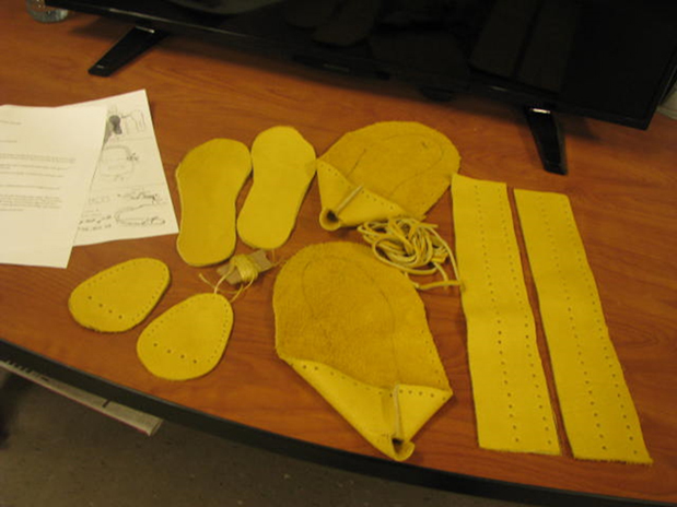 Photo of clothing material at Warkworth Institution